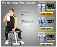 If you want a quick and easy gain in your lean muscle mass then try out Formula T10. It is easy to use and gives fast results that do not cause any side effects.