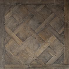 Antique Brown Oak Versailles Panel