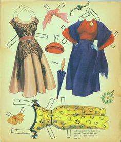 Linda Darnell 1953 Saalfield #2733 - Bobe Green - Picasa Web Albums