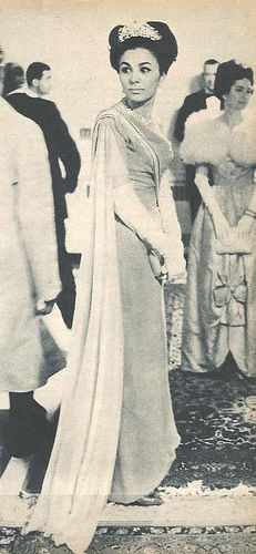 Queen Farah Pahlavi of Iran by Playing By Heart, via Flickr