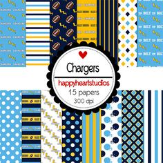 Digital Scrapbook Chargers-INSTANT DOWNLOAD on Etsy, $1.50