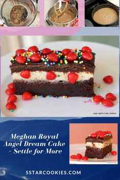 Meghan Royal Angel Dream Cake - Settle for More - 5 Star Cookies Chocolate Torte, Chocolate Bomb, Chocolate Heaven, Chocolate Cheesecake, Best Chocolate, Chocolate Desserts, Melting Chocolate, Nutella Cookies, Chocolate Chip Cookies