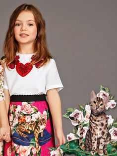 ALALOSHA: VOGUE ENFANTS: Must Have of the Day: Dolce & Gabbana FW'18 collection for those of you who're in love with this adorable bengal cats!