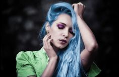 dyeing your hair a crazy color