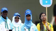 Nur zwei Läufer in Rio: Somalias Mini-Team hofft auf Olympia-Medaille