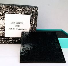 Bold and 3D embossed Coasters.  Feel the texture.