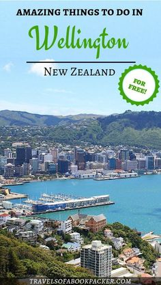 Best Free Things to Do in Wellington Budget tips from a Wellingtonian. Free things to do in Wellington the capital of New Zealand by a local. New Zealand Itinerary, New Zealand Travel Guide, Travel Guides, Travel Tips, Budget Travel, Travel Hacks, Capital Of New Zealand, Places To Travel, Travel Destinations