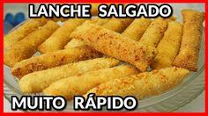 LANCHE SALGADO MUITO RÁPIDO