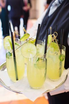 Jalapeño Margarita Cocktails | Photography: Perez Photography.