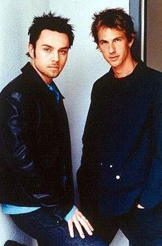 Oh, Savage Garden. I loved them so much, and thought the world was going to end when they broke up in 2001. They were amazing.