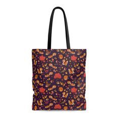 Squirrel forest pattern Tote Bag