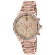 Michael Kors Womens Rose Gold SS Quartz Watch | NZ Watch Store