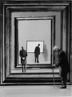 Increible juego de perspectiva! Flash-back, 2001 by Gilbert Garcin. #creative