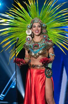 Miss Universe Mexico 2015 in her national costume at Miss Universe 2015