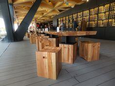 """Galería - La """"mesa de Chile"""" en la Expo Milán 2015 / 50 metros de madera de lenga - 19"""