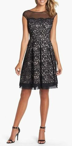 vestido de renda preto lovely lace dress
