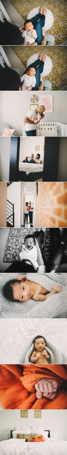 Documentary Style | Lifestyle | Real Moments | Newborn and Family In-Home Session