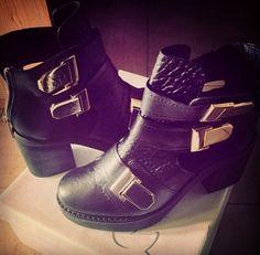 Black boots TopShop