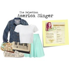 """America Singer"" by charlizard on Polyvore"