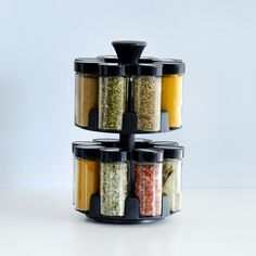 Rotating Spice Rack 16 Jars With Spices - only £34 from ProCook