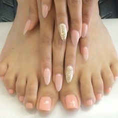 awesome Elegant nails toes☻Hate the stiletto nail thoe...