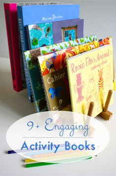Our tried and true favorites... 9+ Engaging Activity Books by Playful Learning