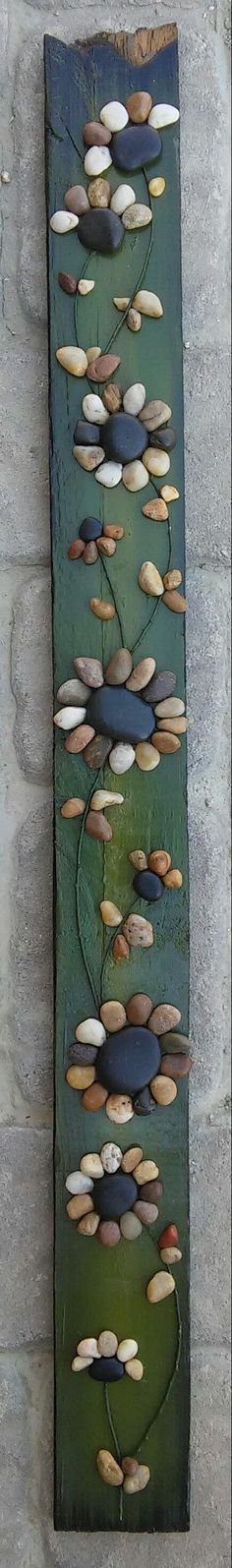 Pebble Art Rock Art Pebble Art Rock Art string of by CrawfordBunch