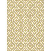 Found it at Wayfair - Metro Yellow Moroccan Tile Rug- $399 Possible for the Living Room!
