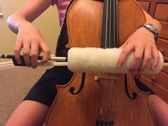 This idea ROCKS MY WORLD! Perfect for orchestra/strings classroom! Cello Bow, Cello Music, Teaching Orchestra, Teaching Music, Cello Lessons, Music Lessons, Violin Family, Effective Teaching, Music Classroom