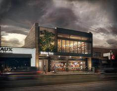 Melrose Pub by Merêces Architecture Vizualization Studio - Design by Dustin Couzens