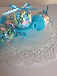 12 Fillable Pacifiers BLUE For Baby Shower Favors  Party Decorations BOY #Unbranded #BabyShower