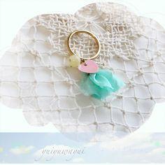 ゜・*:.。、.. -.:*・゜ ゜・*:.。、.:*・゜ ゜・*:. - ..。、.:*・゜好きな気持ちをイメージしてつくった指輪です。ハートのかたちの...|ハンドメイド、手作り、手仕事品の通販・販売・購入ならCreema。