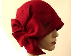 Millinery hat Felt hat Felted Hats felt hats Cloche Hat  095228f28f1a