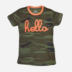 Love this t-shirt from Hello Apparel!