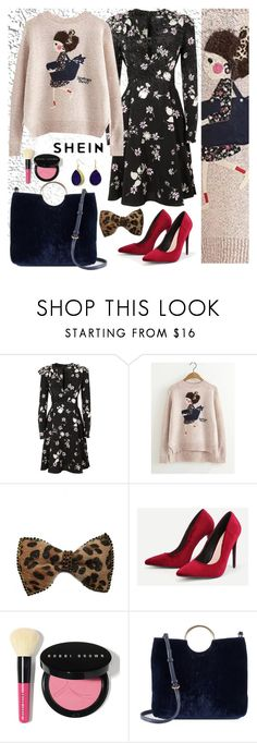 """""""Shein"""" by banhary ❤ liked on Polyvore featuring Valentino, Johnny Loves Rosie, Bobbi Brown Cosmetics, LC Lauren Conrad and Bling Jewelry"""