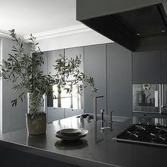 """Paris Apartment  Designer: Guillaume Alan  Matthew Donaldson (via Est Magazine @estmagazine ) #kitchen #kitchendesign #apartment #Parisapartment #EstMagazine #GuillaumeAllan #interior #interiors #instadesign #instainterior #interiordecor #interiordesign #instaarchitecture #architecture #design #decor #black #grey"" Photo taken by @lucdesign on Instagram, pinned via the InstaPin iOS App! http://www.instapinapp.com (06/05/2015)"