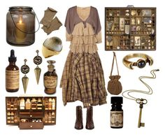 """""""Keeper of Curiosities"""" by maggiehemlock ❤ liked on Polyvore"""