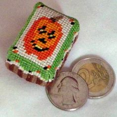 Pumpkin Needlepoint Pattern - Instructions for Pumpkin Needlepoint Pattern