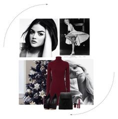 """""""red n black dinner"""" by mihaellahorvatstyles ❤ liked on Polyvore featuring Autumn Cashmere, CHARLES & KEITH and Giuseppe Zanotti"""