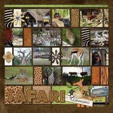 Kilimanjaro Safari - MouseScrappers - Disney Scrapbooking Gallery