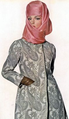 Balenciaga - Vintage - Manteau 'Cachemire' - 1965