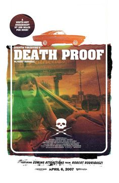 Death Proof - movie poster - Adam Juresko