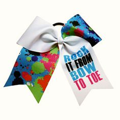 ecff4f246ce42 Extra Large Rock it from Bow to Toe Statement Bow