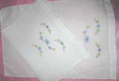 A personal favorite from my Etsy shop https://www.etsy.com/ca/listing/263522466/two-delicate-vintage-embroidered-linen