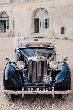 French chateau wedding - Loire Valley. Photos by Mademoiselle Fiona Wedding Photography