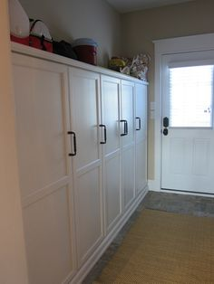 How to build a full length storage cabinet. Garage