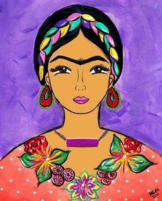 Frida arte by Kathy Cano-Murillo