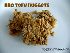 BBQ Tofu Nuggets