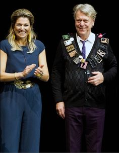 Queens & Princesses - Queen Maxima presented the award from the Prince Bernhard Culture which was held in Amsterdam.
