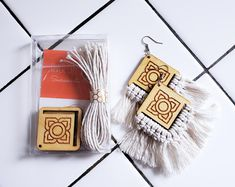 Handcrafted wood and leather jewelry by RiverCitySass on Etsy